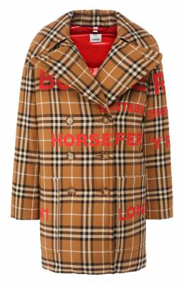 Пуховая куртка Burberry 4560626