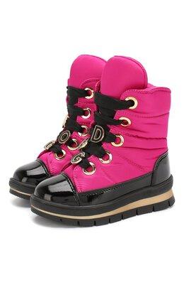 Утепленные ботинки Jog Dog 13027R/ZAFFIR0 DINAMIC/23-28