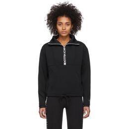 Nike Black Crop Mock Neck Sweatshirt BV4056-010