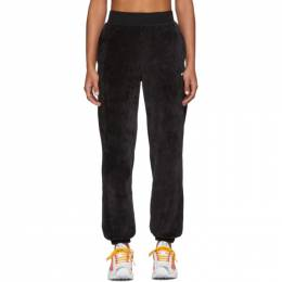 Nike Black Velour Lounge Pants 201011F08602202GB