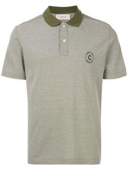 Cerruti 1881 рубашка-поло с контрастным воротником C39H9EM16043