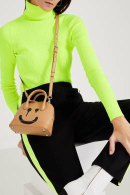 Бежевая сумка с черным принтом Balenciaga 397166567