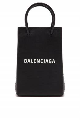 Сумка-пакет мини-формата Shopping Phone Holder Balenciaga 397166568
