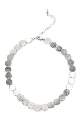 Колье-чокер с круглыми пластинками Lisa Smith 1168166094