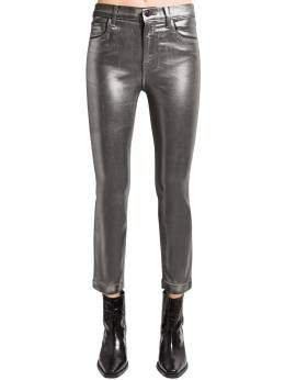 Ruby Cropped Coated Skinny Pants J Brand 71IABT003-SjA0MDE50