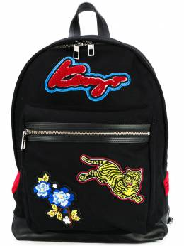 Kenzo logo patch backpack F862SA414B32