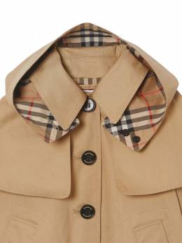 Cotton Gabardine Trench Coat Burberry 71I937026-QTEzNjY1