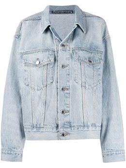 T By Alexander Wang джинсовая куртка на пуговицах 4D992694BZD