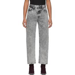 Alexander Wang Grey Curb Jeans 201187F06918401GB