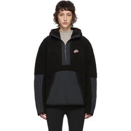 Nike Black Sherpa Fleece Pullover BV3766-010