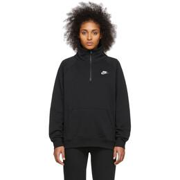 Nike Black NSW Essentials Zip Pullover BV4130-010