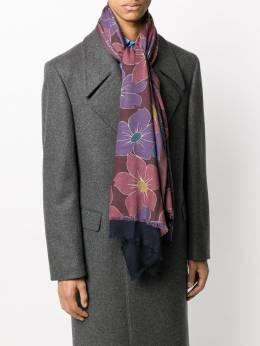 Dell'oglio floral print scarf ANDALOS1605