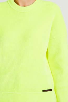 Неоново-желтый джемпер Alexander Wang 367166760