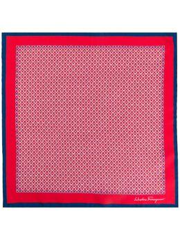 Salvatore Ferragamo silk printed Gancini scarf 725178