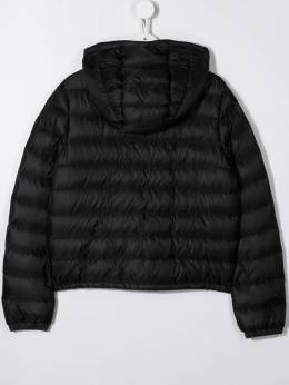 Moncler Kids hooded quilted down jacket 1A1042053334
