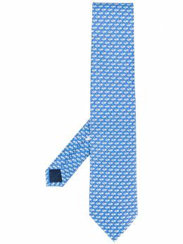 Salvatore Ferragamo boxing gloves tie 723135