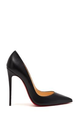 Черные кожаные туфли So Kate 120 Christian Louboutin 10683718