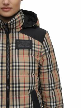 Checked Techno Down Jacket Burberry 70I5CE022-QTcwMjg1
