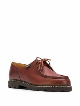 Paraboot ботинки с декоративной строчкой 715603