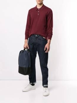 Kent & Curwen рубашка-поло с длинными рукавами и логотипом K3867TR01076