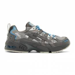 Asics Grey and Blue Chemist Creations Edition Gel-Kayano 5 OG Sneakers 201092M23704413GB