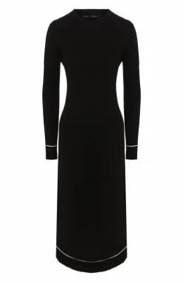 Платье из смеси шерсти и кашемира Proenza Schouler R1937225-KK013