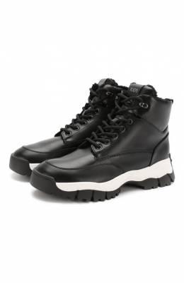 Кожаные ботинки Sportivo Tod's XXW81B0CD01G0C