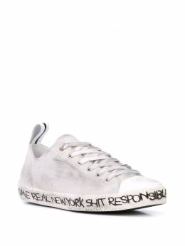 Haculla distressed low-top sneakers HA02AIZ10A