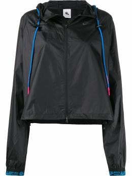 Off-White спортивная куртка с логотипом из коллаборации с Nike OWVL002G19FAB0011045