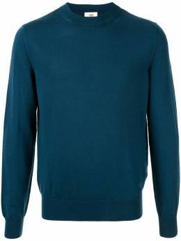 Kent & Curwen пуловер с вышитым логотипом K3867ER03035