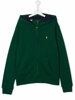 Polo Ralph Lauren худи на молнии с логотипом 323749952