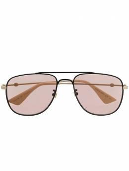 Gucci Eyewear солнцезащитные очки-авиаторы 573219I3330