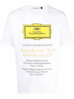 Undercover футболка с графичным принтом UCX3806WH