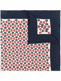 Gucci Horsebit print scarf 6093233G001