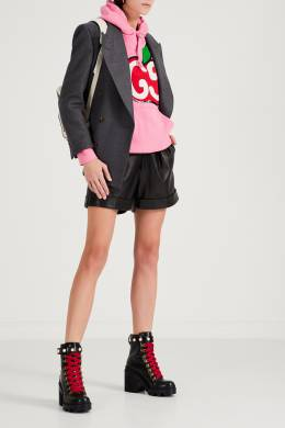 Худи розового цвета со стилизованным логотипом GG Gucci 470166985
