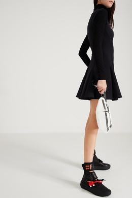 Высокие черные кроссовки Off-White 2202166830