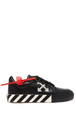 Черные кожаные кеды Off-White 2202166829