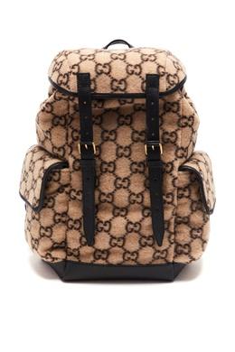 Рюкзак из шерсти GG Gucci 470167002
