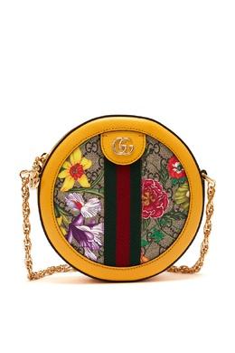Круглая сумка Ophidia GG Flora Gucci 470167003