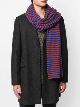Danielapi шарф в полоску DPS201RA