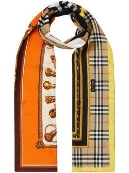 Burberry шарф с принтом 8024785