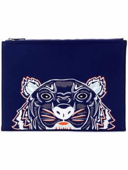Kenzo клатч на молнии с изображением тигра F765PM302F21