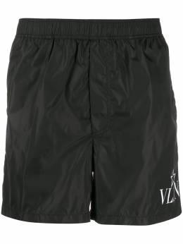 Valentino плавки-шорты с логотипом VLTN TV3UH0285W6