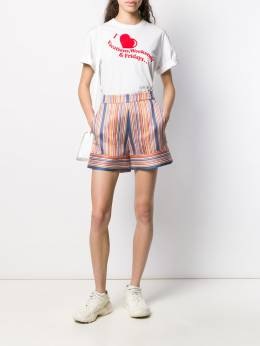 Victoria Victoria Beckham футболка I Heart Weekends с принтом 2120JTS000450A