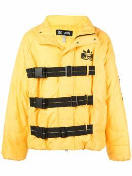 Adidas куртка Staple с ремешками на пряжках DZ0025