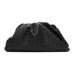 Bottega Veneta Black Intrecciato Leather The Pouch Clutch 192798F04401101GB