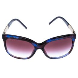 Bvlgari Purple/Blue Gradient 8155 Square Sunglasses