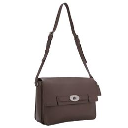 Mulberry Brown Leather Shoulder Bag 244714