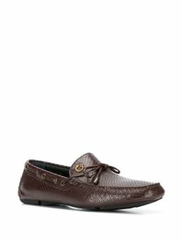 Just Cavalli scale-effect loafers S12WR0062P2939