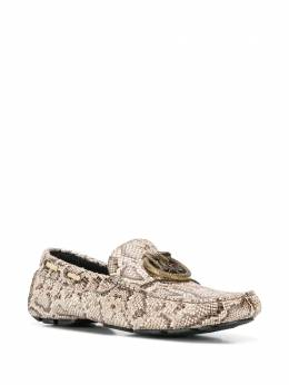 Just Cavalli snakeskin-pattern loafers S12WR0063P3095